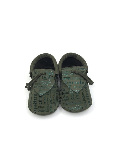 Moots Moots Haki Rectangle Ayakkabı Haki